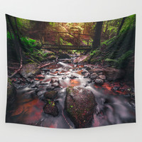 Slowrider Wall Tapestry by HappyMelvin
