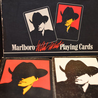 1991 Marlboro Man Playing Cards, Double Deck
