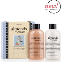 almonds and cream | bath & body duo | philosophy outlet