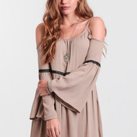 Villa Del Sol Dress In Beige