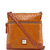 Dooney & Bourke Ostrich Embossed Crossbody Bag