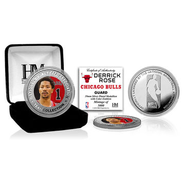 Derrick Rose Silver Color Coin