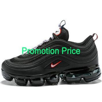 nike sneakers vintage Nike Air Max 97 VaporMax Ultra 17 Triple Black fashion shoe