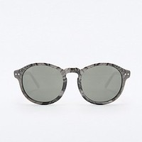 Cheap Monday Marble Circle Sunglasses in White - Urban Outfitters