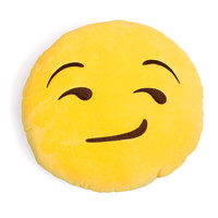 Smirking Emoji Pillow