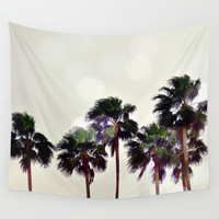 Palm Tree Family - Wall Tapestry