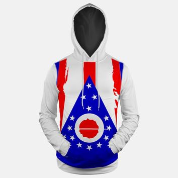 Ohio Beast State Flag Hoodie (Ships in 2 Weeks)