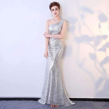 Customized Dress Sequins Celebrity Party Plus Size Dress Bodycon Women Halloween Runway Club Ladies Prom Long Dresses