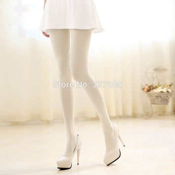 XXXL new lady girls women tights fashion stockings plus velvet warm Opaque tights for dance girls maid women's tights pantyhose