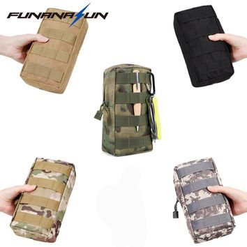 Tactical Military Molle Pouch Protable EDC Utility Bag Outdoor Waist Pack Cell Phone Bullet Belt Pouch for Paintball Shooting