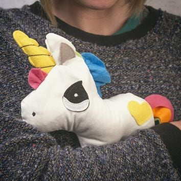 Heated Huggable Unicorn | Firebox.com - Shop for the Unusual