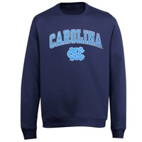 North Carolina Tar Heels (UNC) Midsize Classic Crew Sweatshirt - Navy Blue