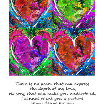 Romantic Art - Completely Yours - By Sharon Cummings Poster