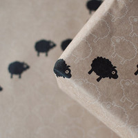 3 Sheets Bah Bah Black Sheep - Wrapping Paper