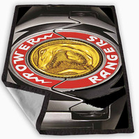 Red Ranger Power Morpher Blanket for Kids Blanket, Fleece Blanket Cute and Awesome Blanket for your bedding, Blanket fleece **