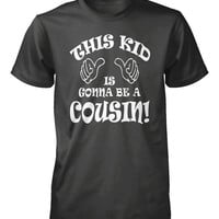 Boys Cousin Shirt Promoted To Cousin Kids Youth Little Guys Small Pregnancy Announcement Expecting Mothers Medium Large Xlarge