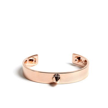 Rose Gold Open Cuff by MFP - MariaFrancescaPepe