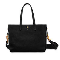 """d-bee"" shopping bag in black grained calfskin - Dior"