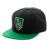 Harry Potter Slytherin Crest Snapback Hat Cap