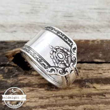 Westmorland Lady Hilton Sterling Silver Spoon Ring