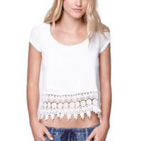 LA Hearts Crochet Trim Swing Top at PacSun.com