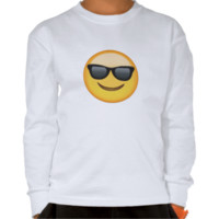 Smiling Face With Sunglasses Emoji T-shirt