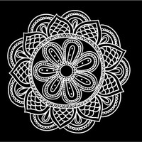 Mandala Decal Custom Vinyl Car auto vehicle window decal custom sticker Boho Decal Bohemian Decal