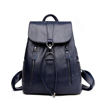 Female Backpack String Bags Large Capacity School Bag Mochila Feminina