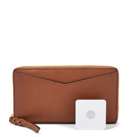 Caroline RFID Zip Around Wallet and Tile® Slim Box Set