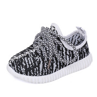 Boys Shoes Girls Shoes 2016 Autumn Breathable Sport Soft Bottom Baby Boys Mesh Shoes Kids Running Coconut Fashion Girls Sneakers