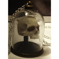 Human Anatomy Bell Jar [Skull] | NECKLACES