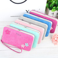 YULYYE New Ladies PU Leather Wallets High Quality Card Holder Women Famous Band Wallets Classic Credit Coin Purse Clutch Wallet