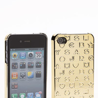 MARC BY MARC JACOBS 'Metallic Stardust' iPhone 4 Case | Nordstrom