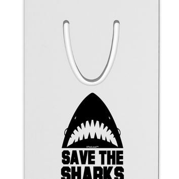 Save The Sharks Aluminum Paper Clip Bookmark