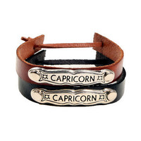 GYPSY WARRIOR - Leather Horoscope Bracelets