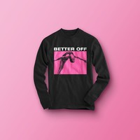 Black/Pink Diver - Longsleeve from Better Off