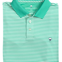 YOUTH Augusta Stripe Polo