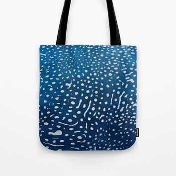 Whale shark skin. Tote Bag by Nayers