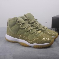 "WMNS Air Jordan 11 Retro AR07515-200 ""Neutral Olive"""