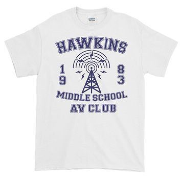 Stranger Things Hawkings AV Club Short sleeve t-shirt