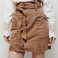 Free People On The Hunt Mini Skirt
