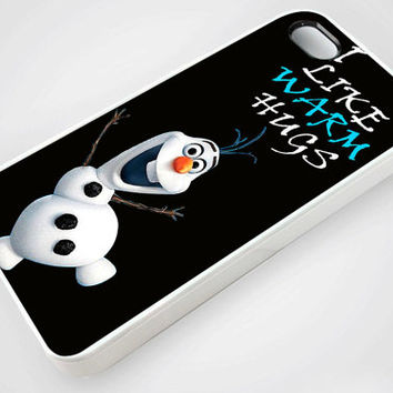 Disney Movies Frozen Movie  Olaf I Like Warm Hugs - iPhone Case,Samsung Case,iPod Case.The Best Case.