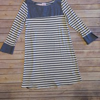 Chambray n Stripes Dress