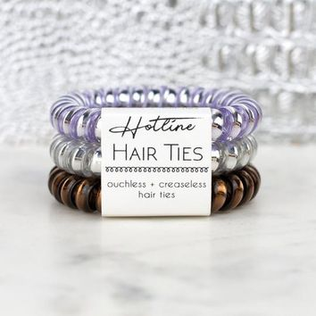 Hotline Hair Ties - Lavender Crush