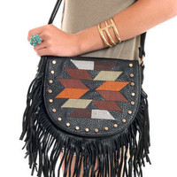 GYPSY WARRIOR - Desert Fringe Crossbody Bag