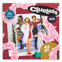 Universe Publishing 'Clueless - 20th Anniversary' 2015 Wall Calendar