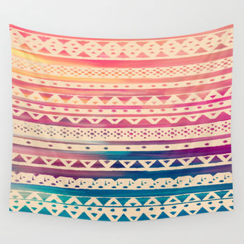 SURF TRIBAL II Wall Tapestry by Nika