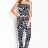Boho Elephants Jumpsuit