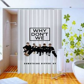 Why Don't We Something Different Custom Design Shower Curtain 60x72