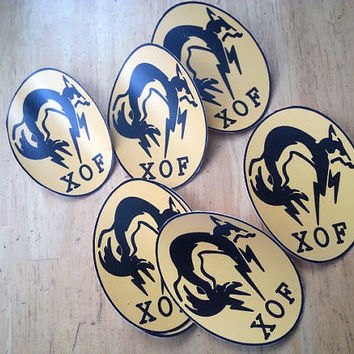 XOF Decal Sticker from Metal Gear Solid V The Phantom Pain & Ground Zeroes